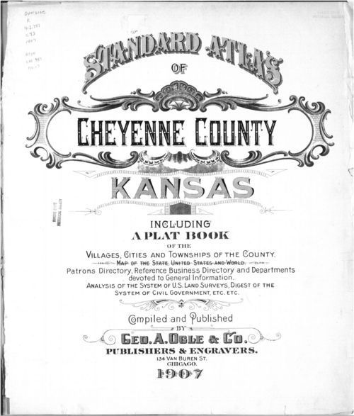 Standard atlas of Cheyenne County, Kansas - Page