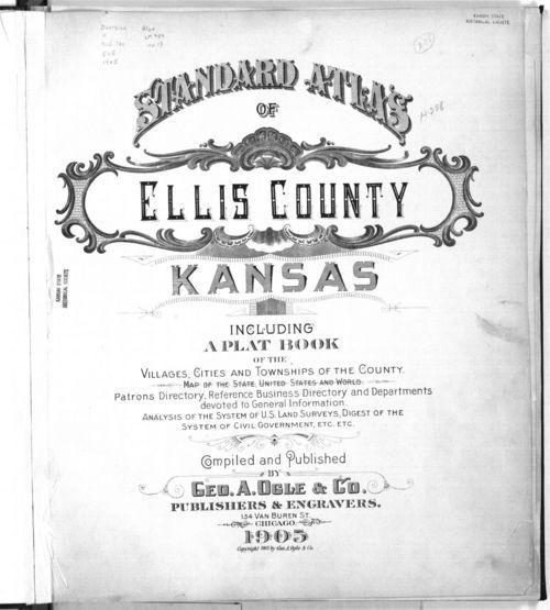 Standard atlas of Ellis County, Kansas - Page