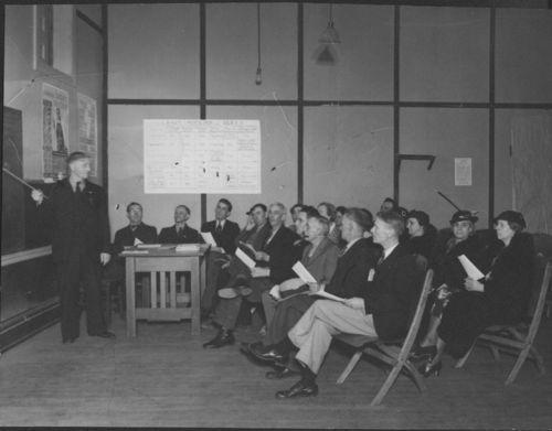 Adult education class, Topeka, Kansas - Page