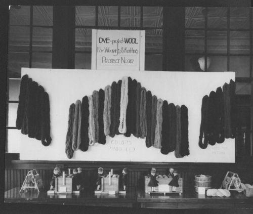 Wool yarn display - Page