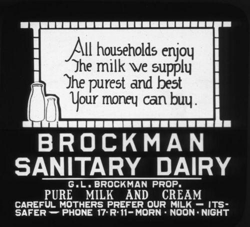Brockman Sanitary Dairy - Page