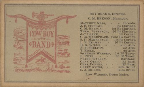 Cowboy Band roster - Page