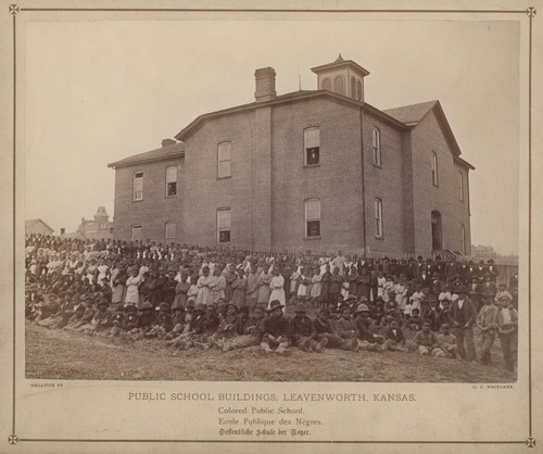 Public school in Leavenworth, Kansas - Page