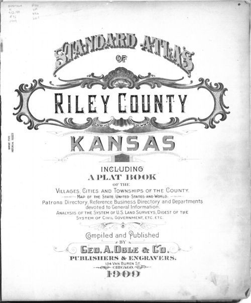 Standard atlas of Riley County, Kansas - Page