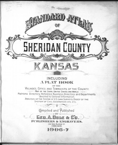 Standard atlas of Sheridan County, Kansas - Page