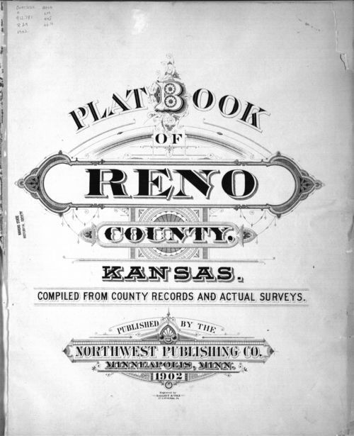 Plat book of Reno County, Kansas - Page