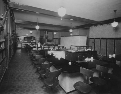 Fred Harvey dining room, Newton, Kansas - Page