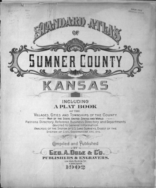Standard atlas of Sumner County, Kansas - Page