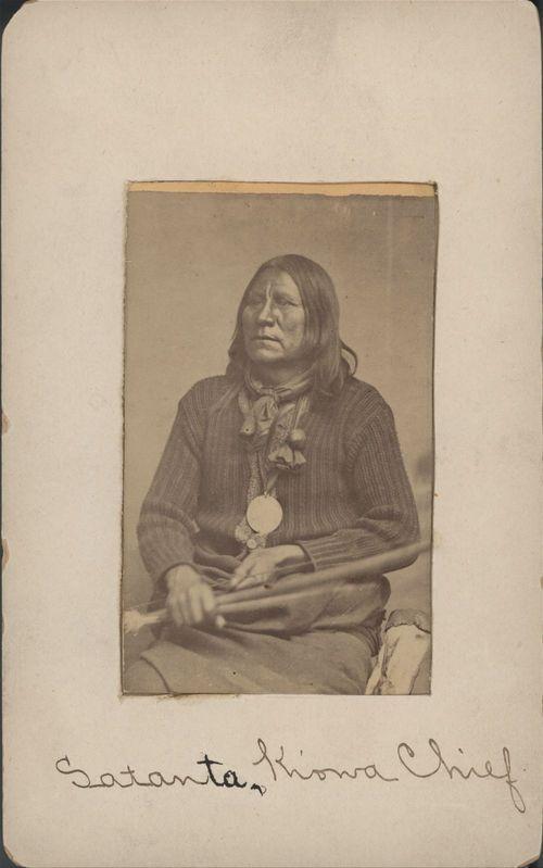 Kiowa Chief Satanta - Page