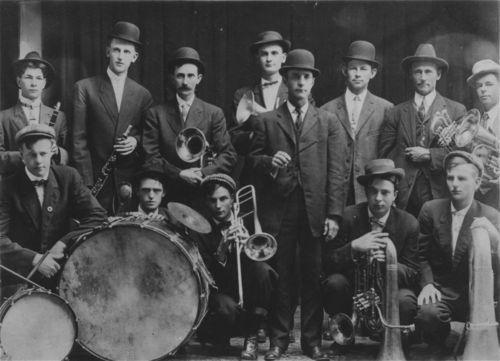 Band, Garnett, Kansas - Page