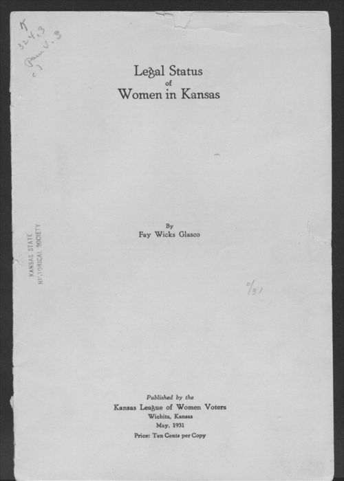 Legal status of women in Kansas - Page