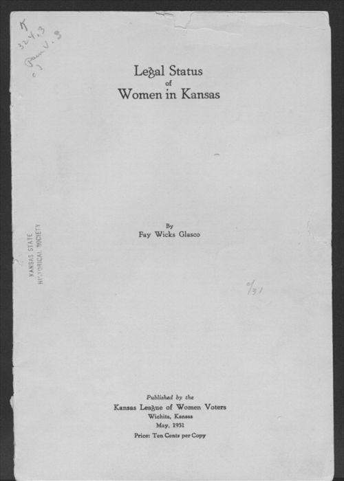 Legal status of women in Kansas - Page