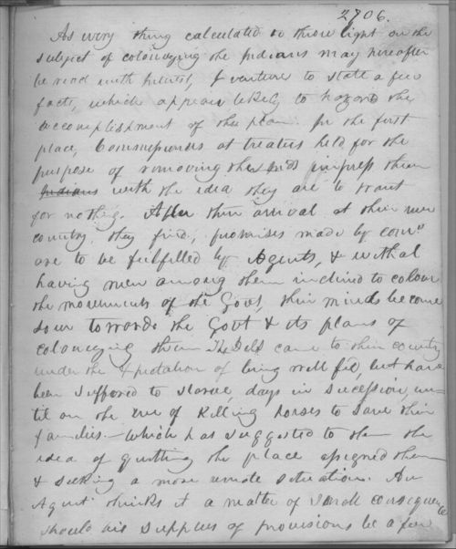 Johnston Lykins journal entry, undated - Page