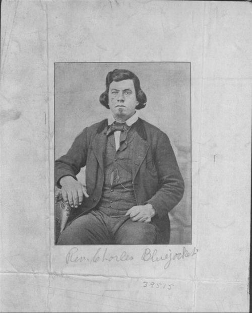Reverend Charles Bluejacket - Page