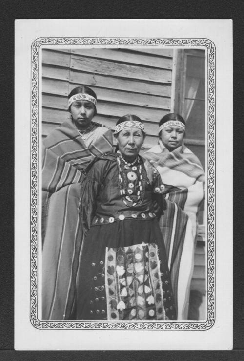 Prairie Band Pottawatomi women - Page