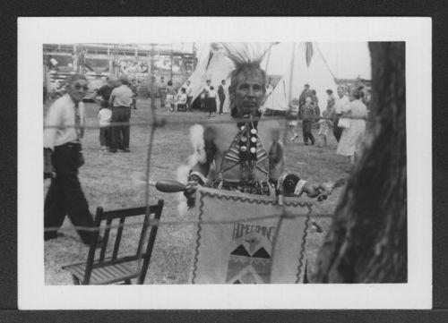 Pottawatomi Indian Dancer at Mayetta, Kansas - Page