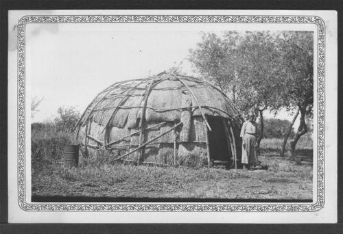 Bark house, Kickapoo Reservation - Page