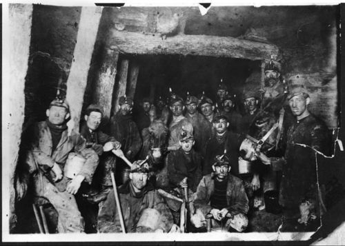 Miners at mine #14, Scranton, Kansas - Page