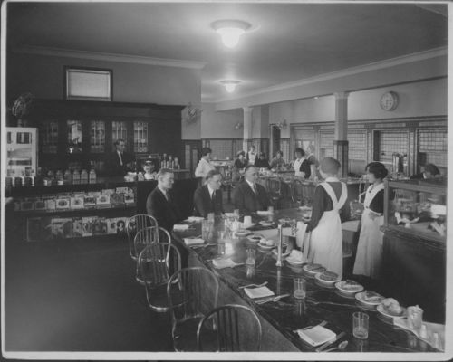 Atchison, Topeka & Santa Fe Railway Company's Fred Harvey lunchroom, LaJunta, Colorado - Page