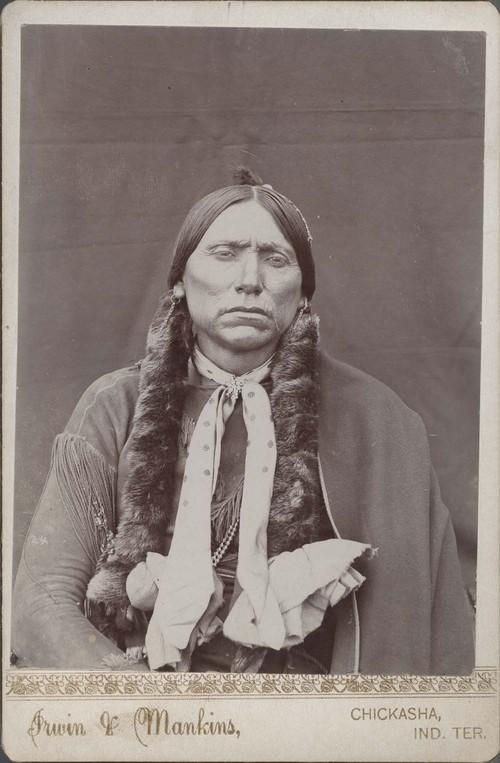 Quanah Parker, Comanche Indian chief - Page