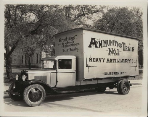 John R. Brinkley's 1932 campaign truck - Page
