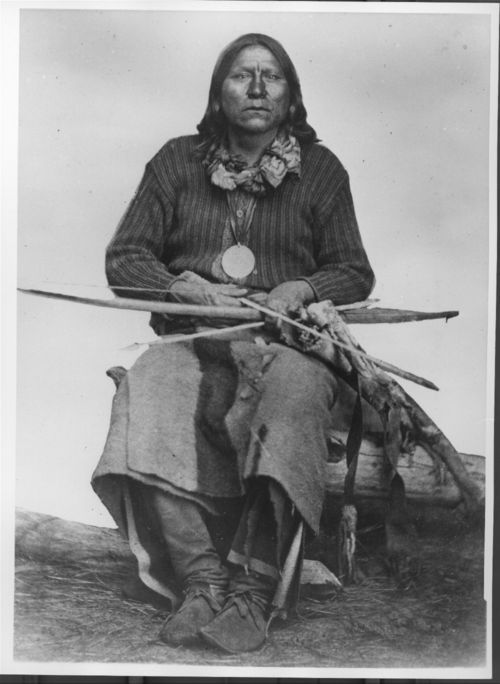 Satanta, Kiowa chief,  between 1865 and 1878