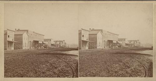 Main street, Chetopa, Kansas - Page