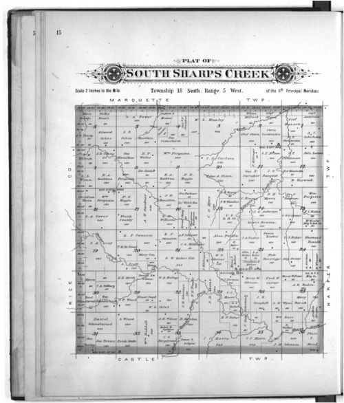 Plat book of McPherson County, Kansas - Page