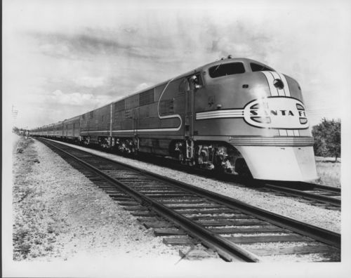 Atchison, Topeka & Santa Fe Railway Company's Super Chief - Page