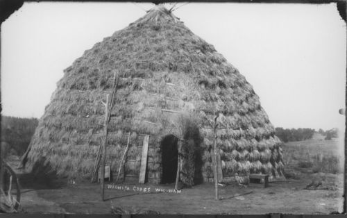Wichita Indian grass house - Page