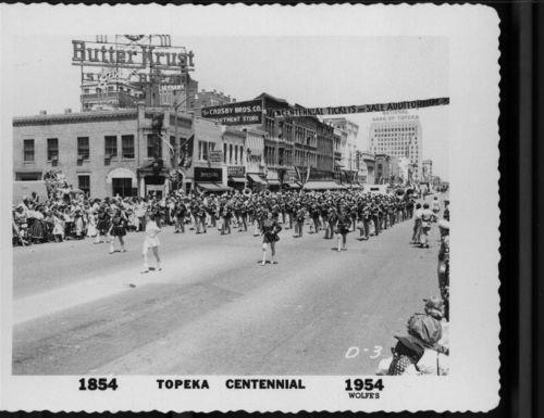 Centennial Parade, Topeka, Kansas - Page