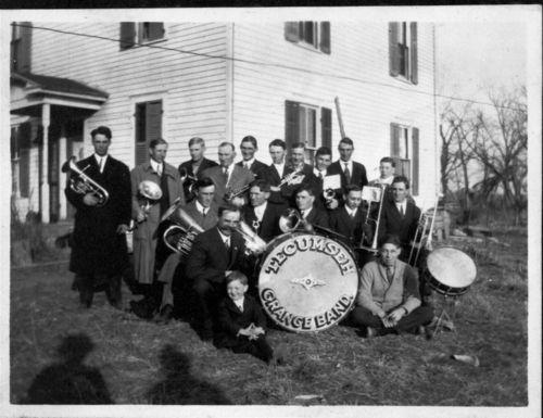 Tecumseh Grange Band, Tecumseh, Kansas - Page