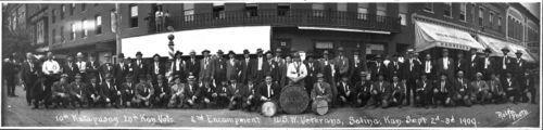 Spanish-American War Veterans Reunion, Salina, Kansas - Page