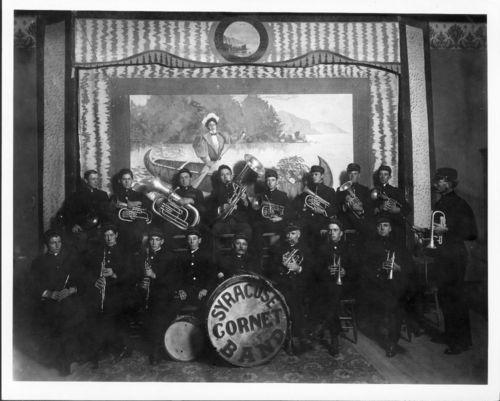 Cornet Band, Syracuse, Kansas - Page