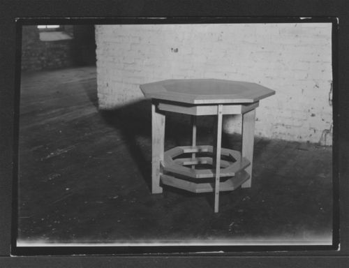 Octagonal wooden table - Page