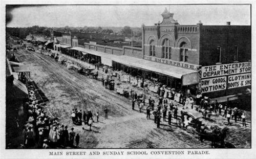 Sunday School Convention Parade, Osawatomie, Kansas - Page