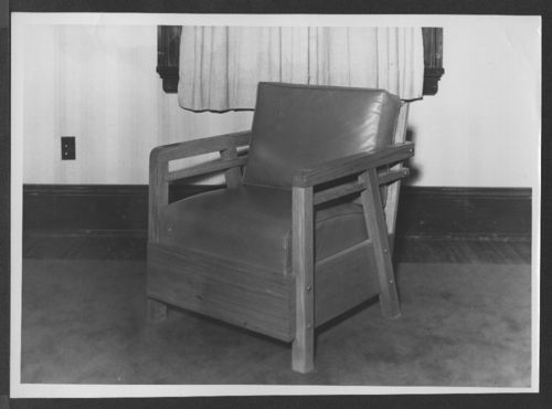 Mission style chair - Page