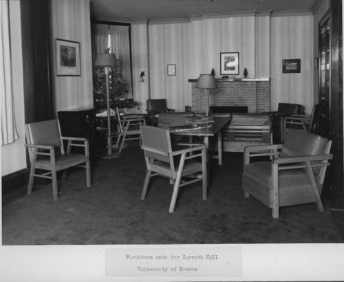Furniture made for Carruth Hall, University of Kansas - Page