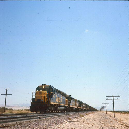 Atchison, Topeka & Santa Fe Railway train carrying potash - Page