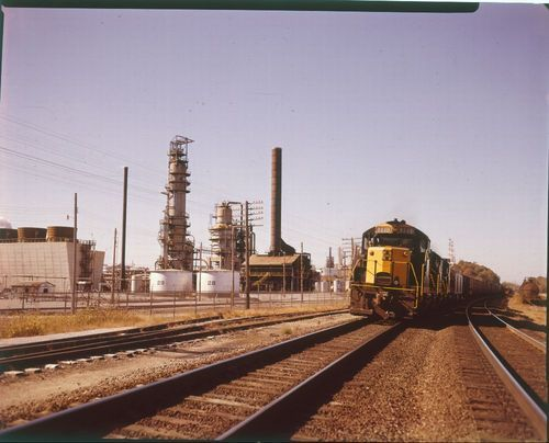 Atchison, Topeka & Santa Fe Railway Company freight train - Page
