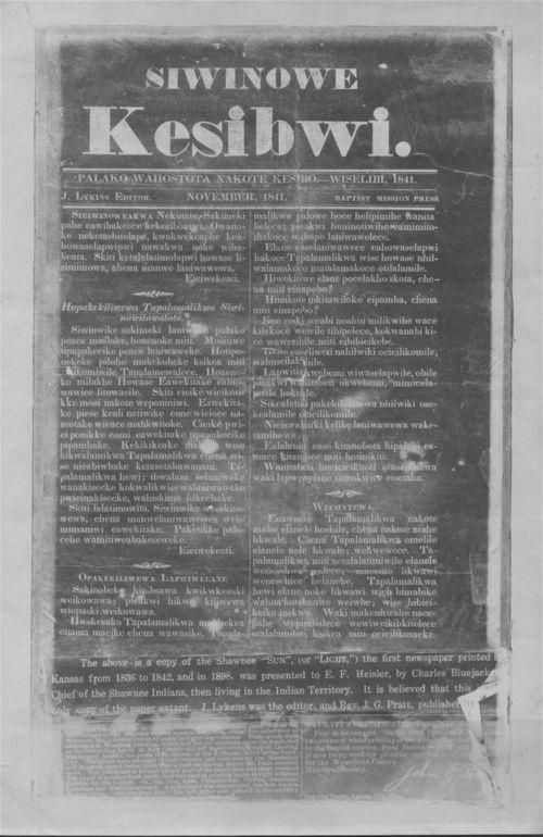 Shawnee Sun (Siwinowe Kesibwi) - Page