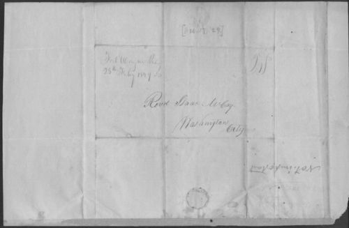 Ottawa Indians to President John Quincy Adams - Page