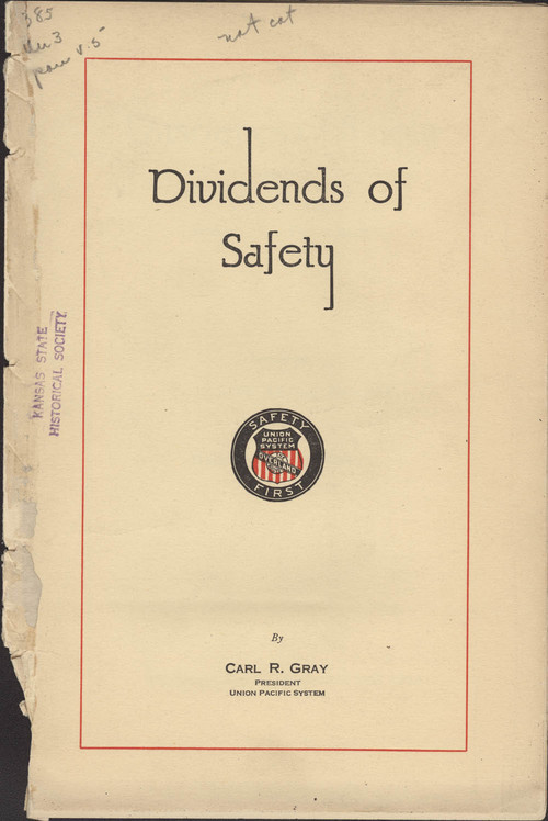 Dividends of safety - Page