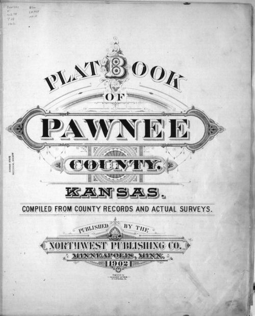 Plat book of Pawnee County, Kansas - Page