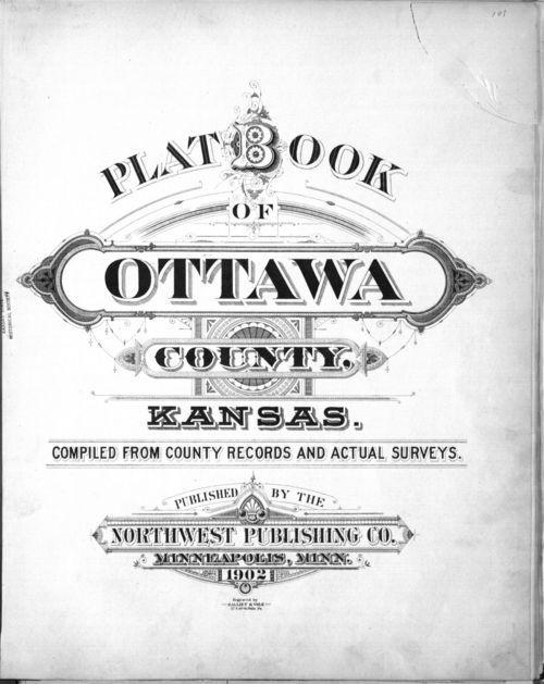 Plat book of Ottawa County, Kansas - Page