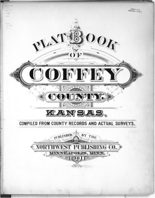 Plat book, Coffey County, Kansas - Page