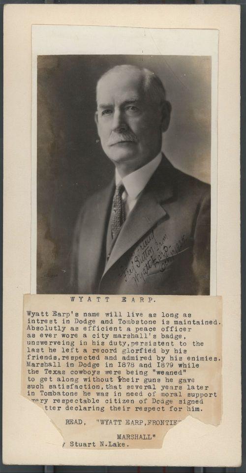 Wyatt Earp - Page