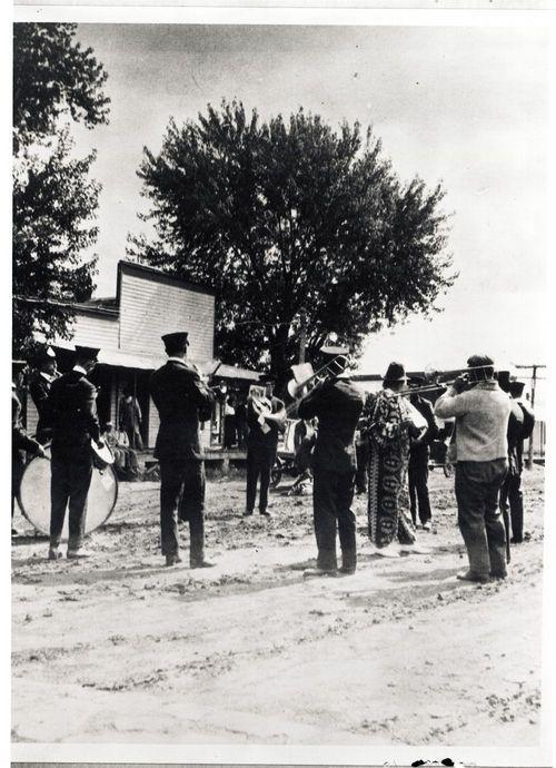 Band, Ozawkie, Kansas - Page