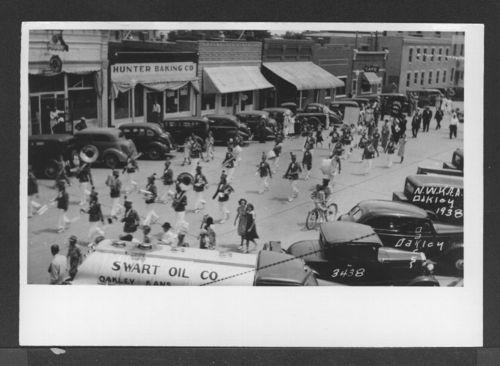Band, Oakley, Kansas - Page