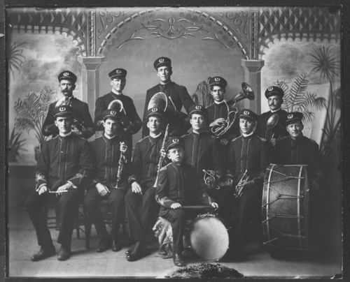 Band Portrait - Page